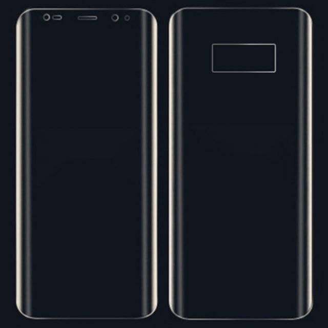 Front and Back Screen Protector Film for Samsung Galaxy