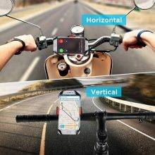 Universal Bicycle Phone Holder on Handlebar