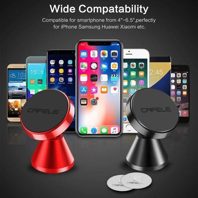 Universal Round Shaped Car Phone Holder