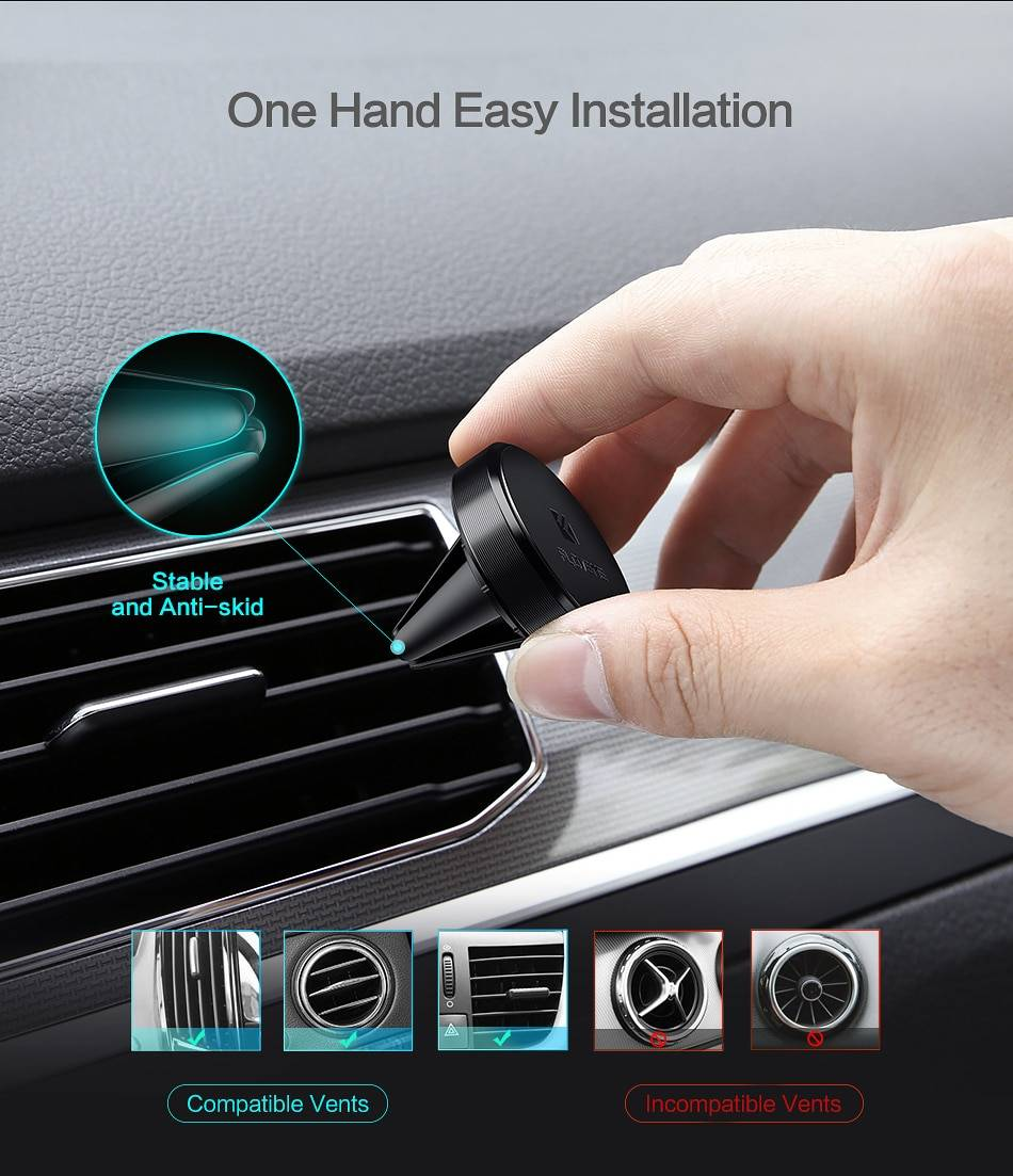 Magnetic Universal Car Phone Holder