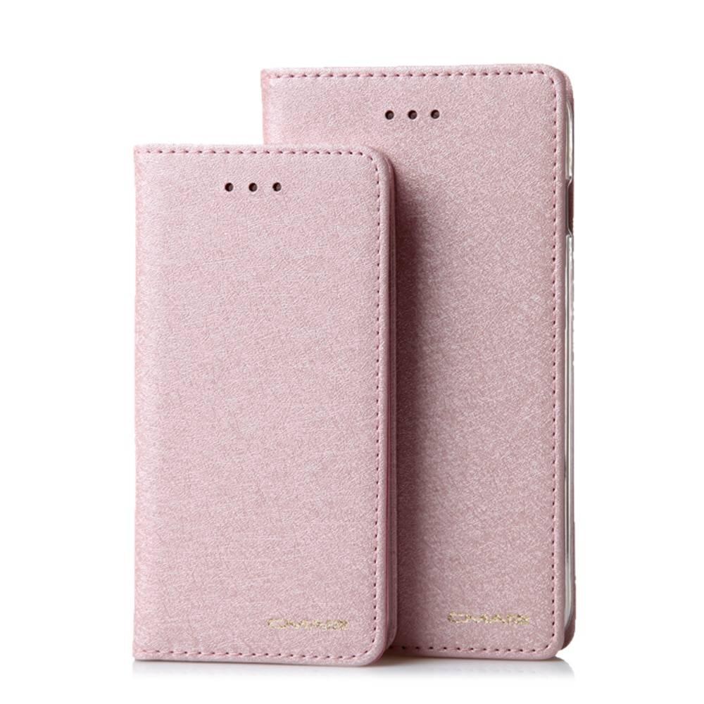 Solid Color Wallet Flip Case for iPhone