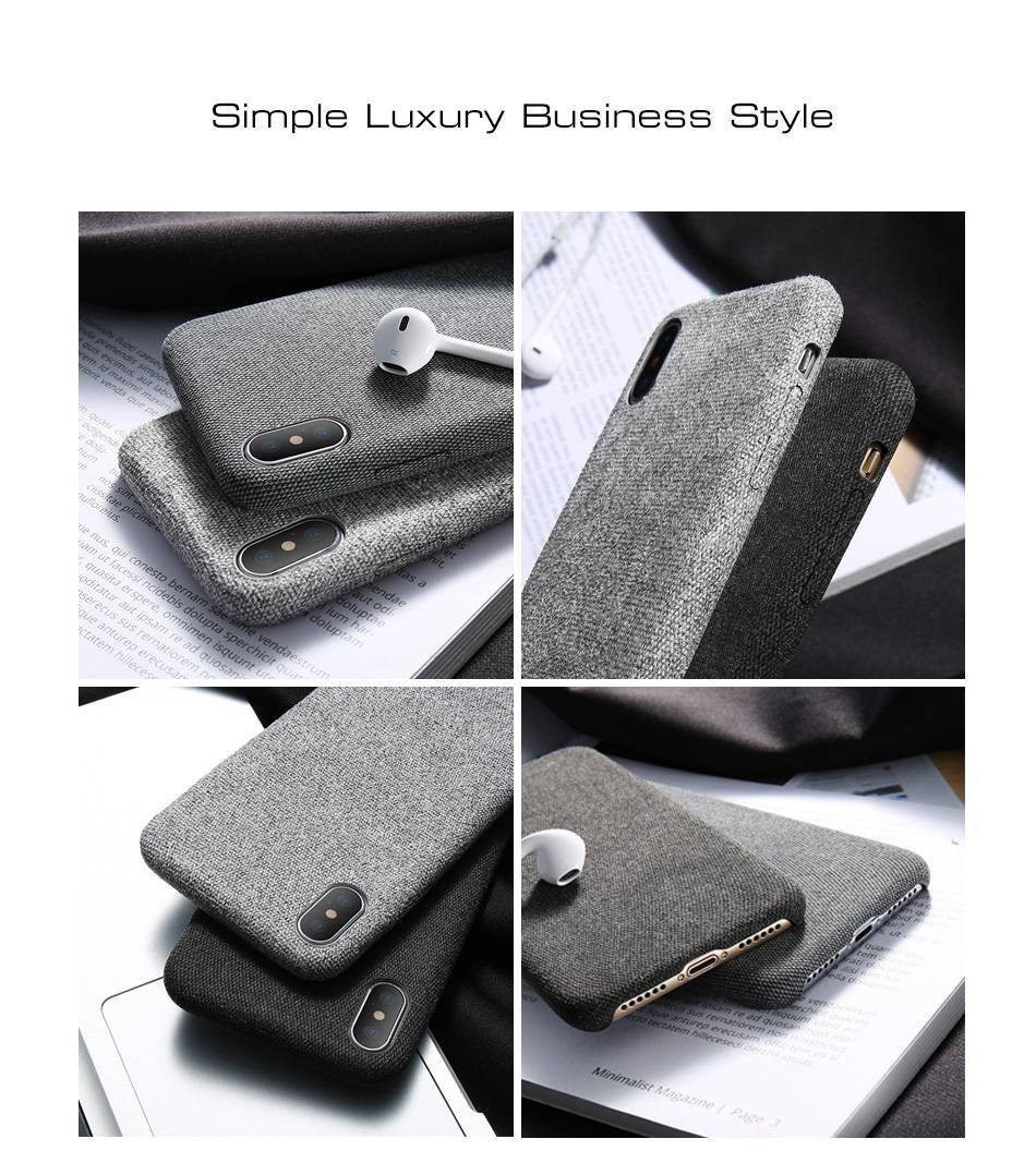 Luxury Style Cloth Design Phone Case for iPhone