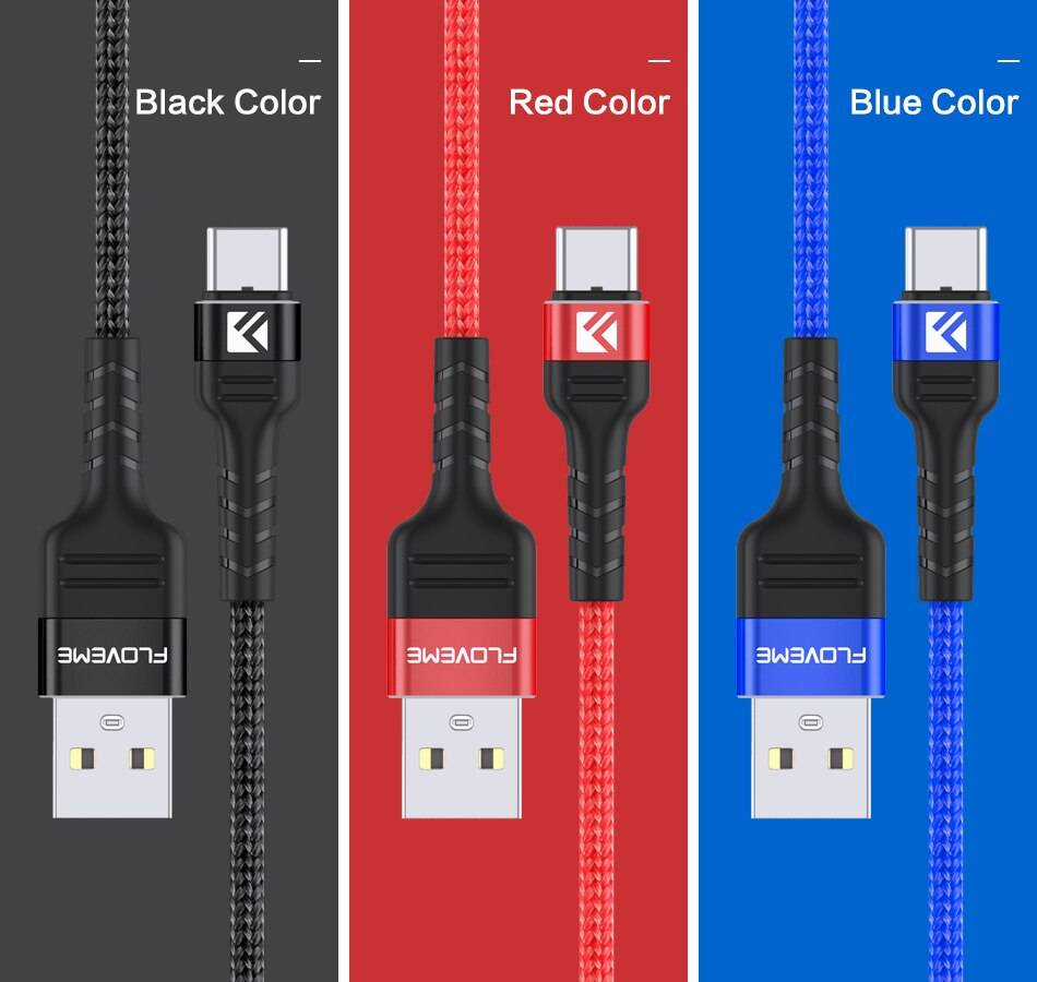 3A Fast Charging Type C USB Cable