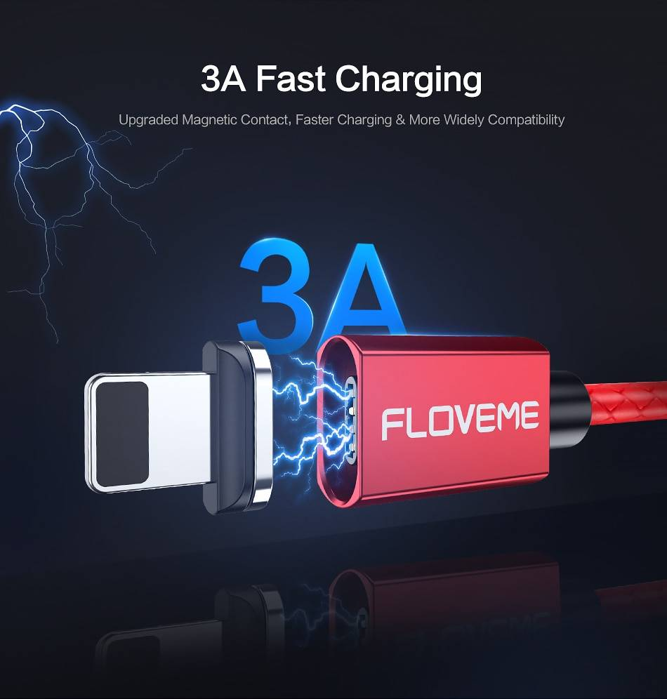 Magnetic Design Fast Charging USB Cable
